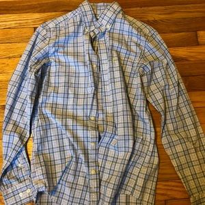 Men's yellow, blue and pink Nautica shirt